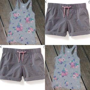 Top and shorts set